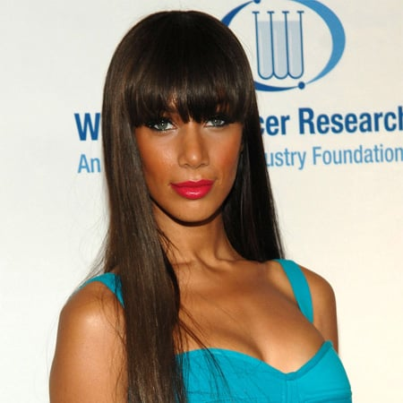 Ultralong Hair With Blunt Bangs Is Trendy For Winter 2011