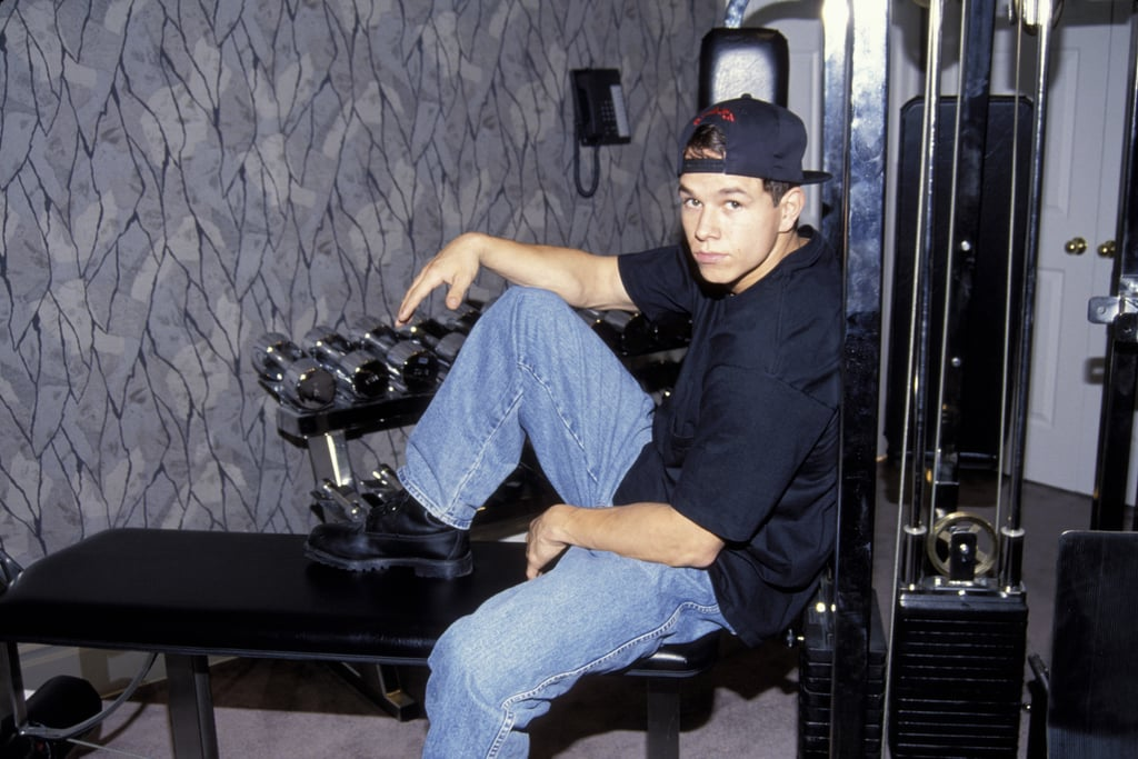 "Naturally, Mark released a workout video in 1993 called ""The Marky Mark Workout: Form . . . Focus . . . Fitness."""