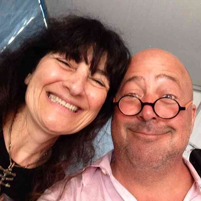 Ruth Reichl and Andrew Zimmern