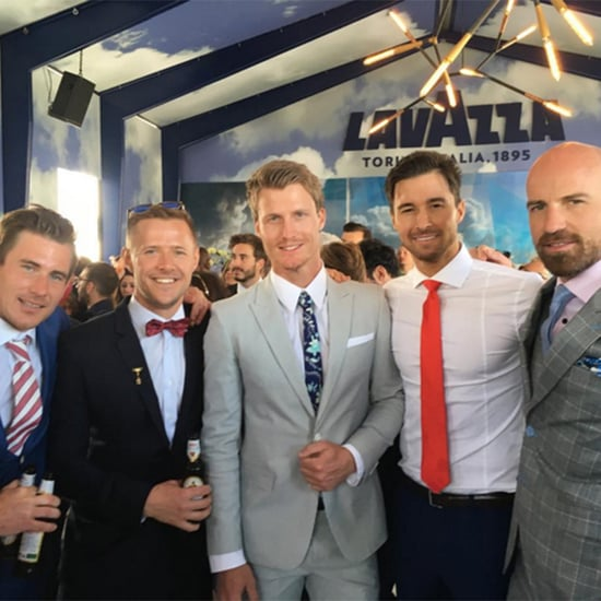 The Bachelor and Bachelorette Stars at 2015 Melbourne Cup