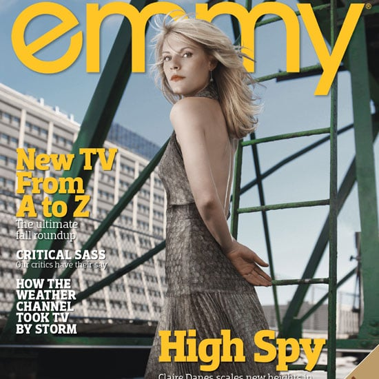 Claire Danes on the Cover of Emmy Magazine Picture