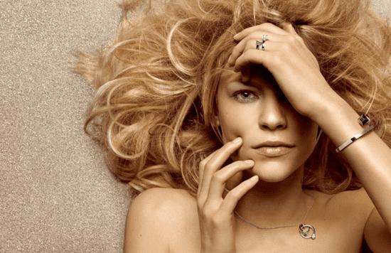 Claire Danes Stars in Ads for Gucci Fine Jewelry Chiodo Collection