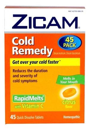 Zinc Helps Shorten Colds, Study Says