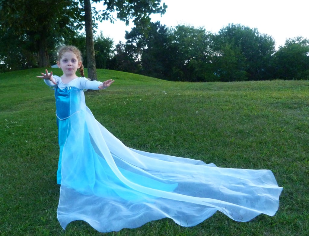 This Elsa costume ($92) is as magical as the ice queen herself, and your daughter is sure to wow her friends in it this Halloween.