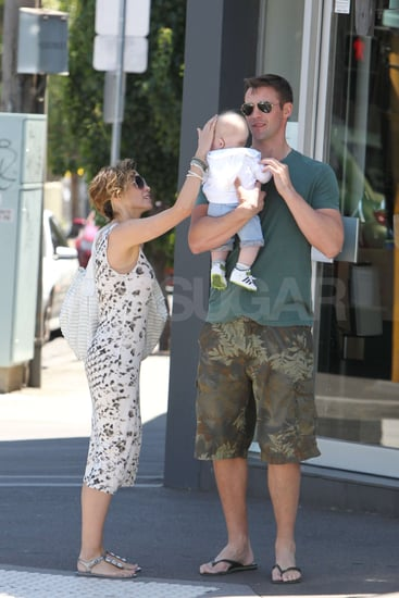 Pictures of Dannii Minogue With Baby Ethan and Kris Smith in Melbourne