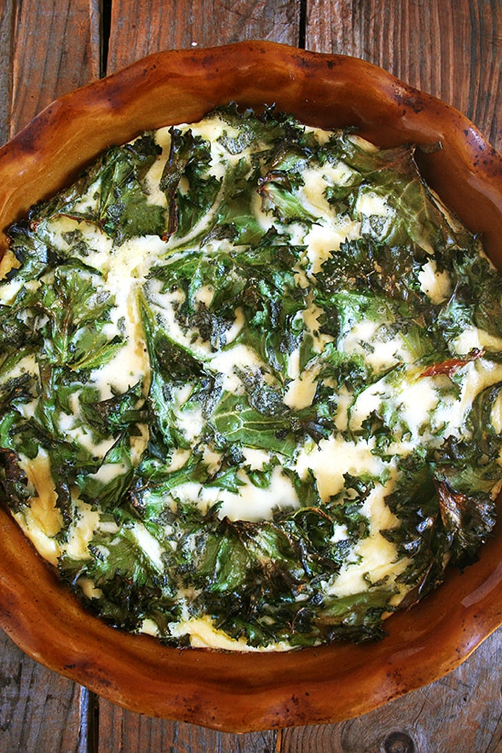 Crustless Kale Quiche | 50+ Cold-Weather Breakfast Recipes | POPSUGAR ...
