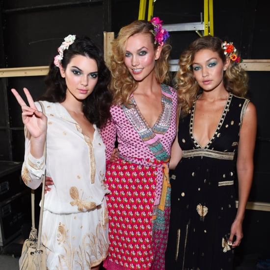All Your Favourite Models Just Walked in DVF's Spring '16 Show
