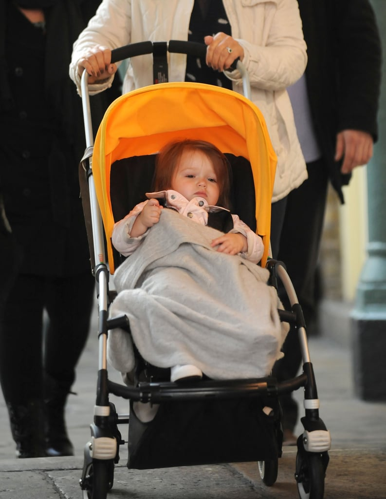 Victoria and Harper Tackle London Together