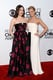 People's Choice Awards hosts Kat Dennings and Beth Behrs showed up in style for their gig.