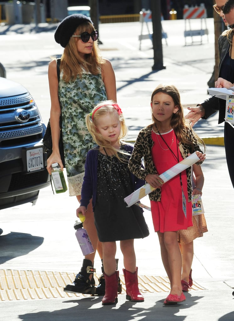 Nicole Richie took Harlow Madden and her friends to a concert in LA.