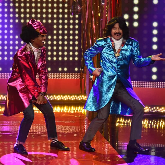 """Pharrell and Jimmy Will Crack You Up as '80s Soul Singers """"Afro & Deziak"""""""