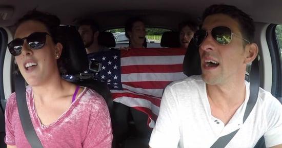 The U.S. Swim Team's Carpool Karaoke Montage Will Get You Amped for Rio