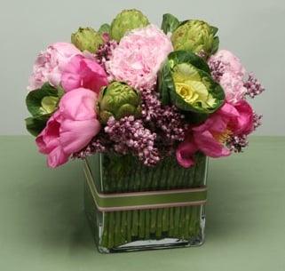 Floral and Vegetable Arrangements