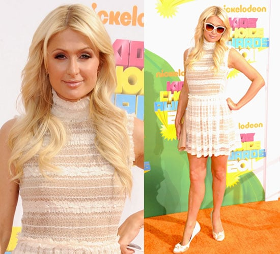 Paris Hilton at the Kids' Choice Awards 2011