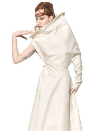 Silk Cotton Faille Top