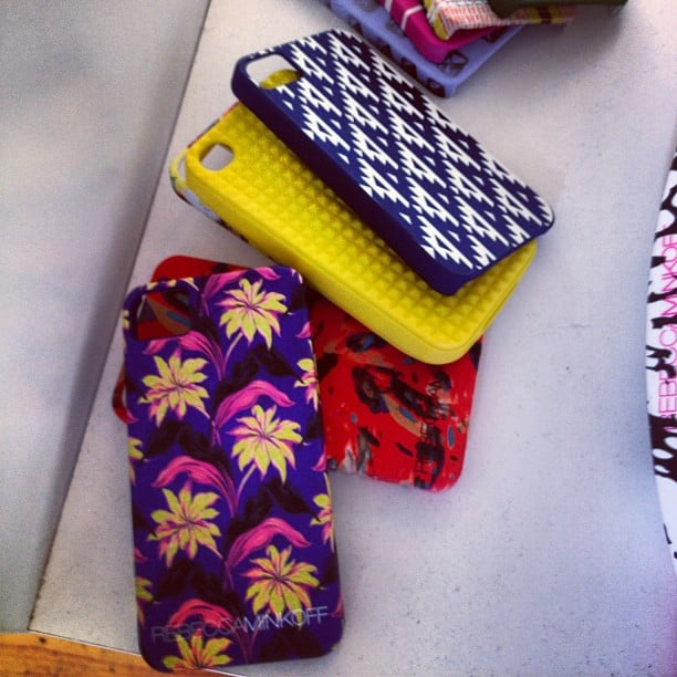 These printed and textured iPhone cases from Rebecca Minkoff will lend a stylish edge to all your texting and Internet browsing.