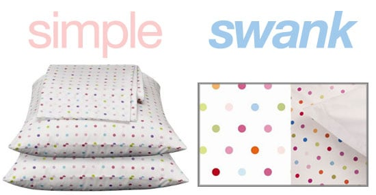 Simple or Swank: Polka Dot Sheets