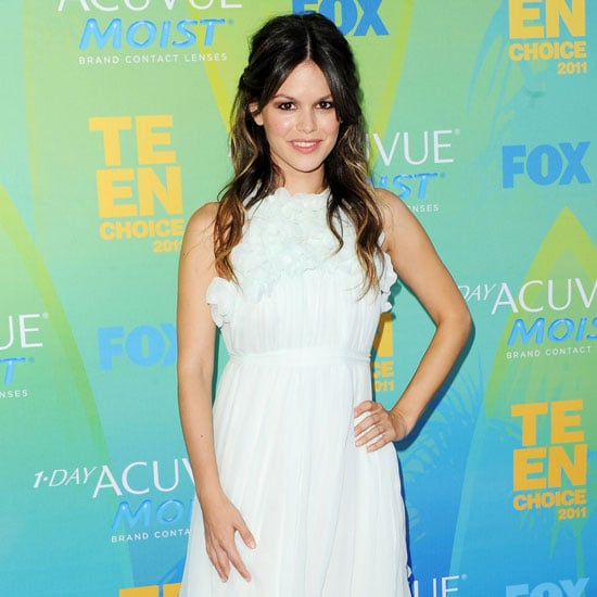 Rachel Bilson Wearing Chloe and Brian Atwood at the Teen Choice Awards Pictures