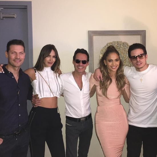 Marc Anthony at Jennifer Lopez's Concert August 2016