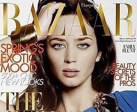 Fab Cover: Emily Blunt for Harper's Bazaar