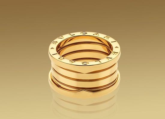 Bulgari B.ZERO1 ring in 18kt yellow gold. $1,350