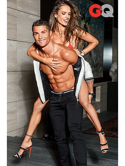Cristiano Ronaldo Shows Off His Drool-worthy Abs in a Sexy GQ Cover with Alessandra Ambrosio