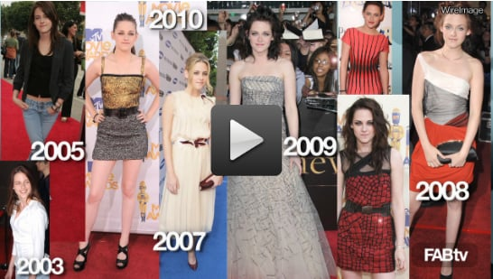 Sugar Shout Out: Kristen Stewart's Red Carpet Style Evolution