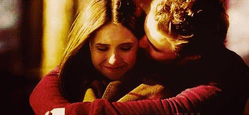 With Elena, he's so cute, even if we're not ever sure who she should be with.