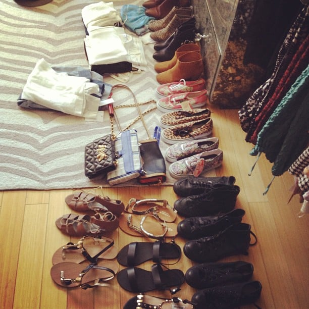Whitney Port gave us a glimpse of her Coachella packing situation. Source: Instagram user whitneyeveport