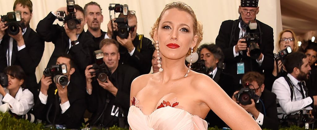 Blake Lively Shows Up at the Met Gala Looking Like Some Kind of Spring Goddess