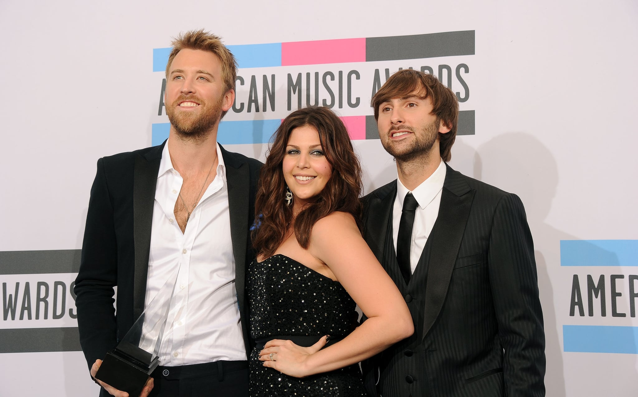 Lady Antebellum's Hillary Scott, Charles Kelley and Dave Haywood won an American Music Award.