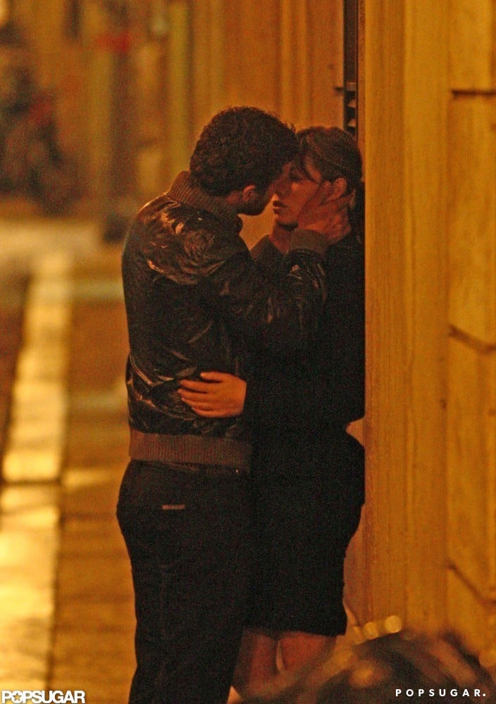 They snuck in a kiss during a romantic visit to Rome in September 2008.