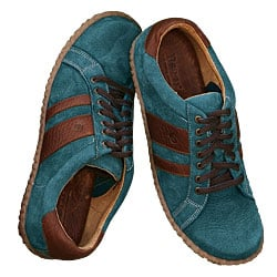 Cool Brown and Teal Kicks