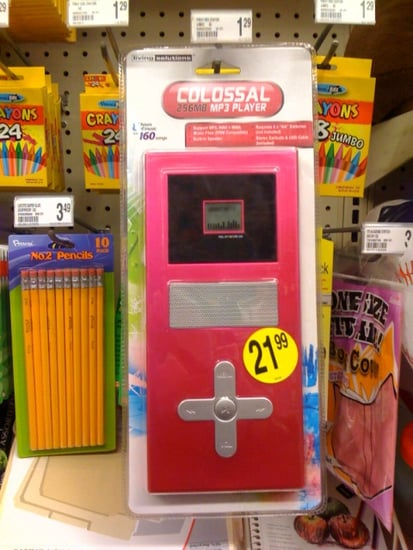 Colossal MP3 Player Spotted at Walgreens!