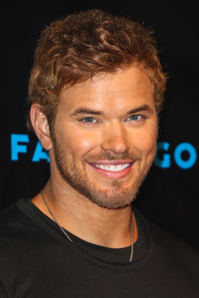 Kellan Lutz gave a smile at the Breaking Dawn Part 2 party at Comic-Con.
