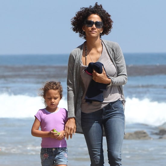 Halle Berry and Nahla on Malibu Beach Pictures