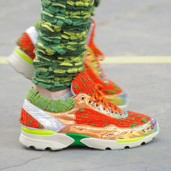 Sneakers at Chanel Runway Shows