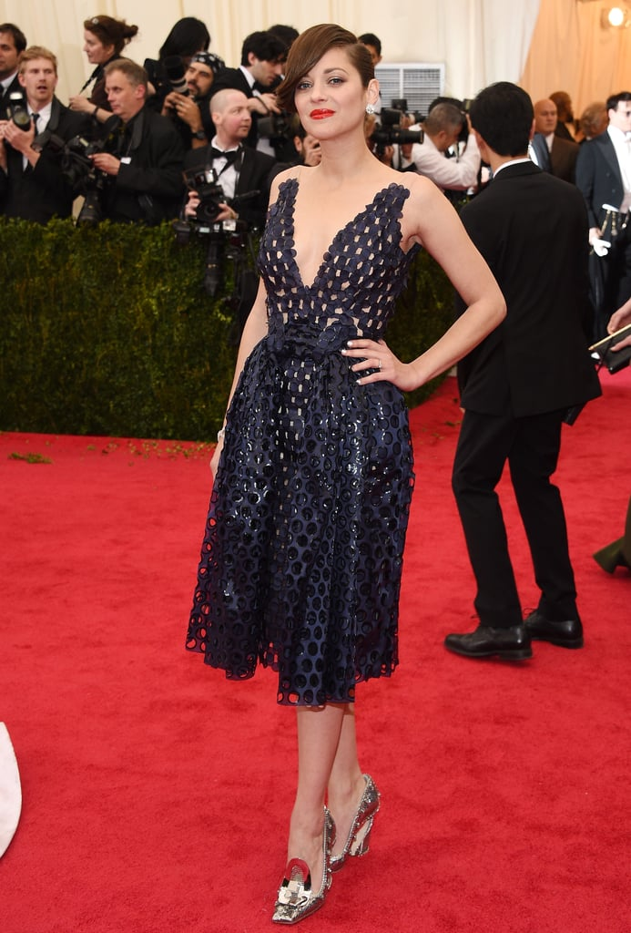 Marion Cotillard at the 2014 Met Gala