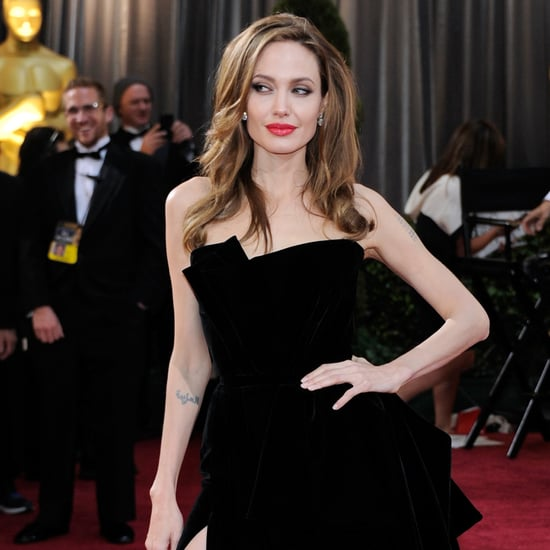 Angelina Jolie's Sexiest Black Dresses | Video