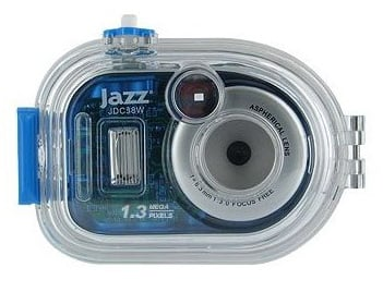 Blue Jazz Water Resistant Camera