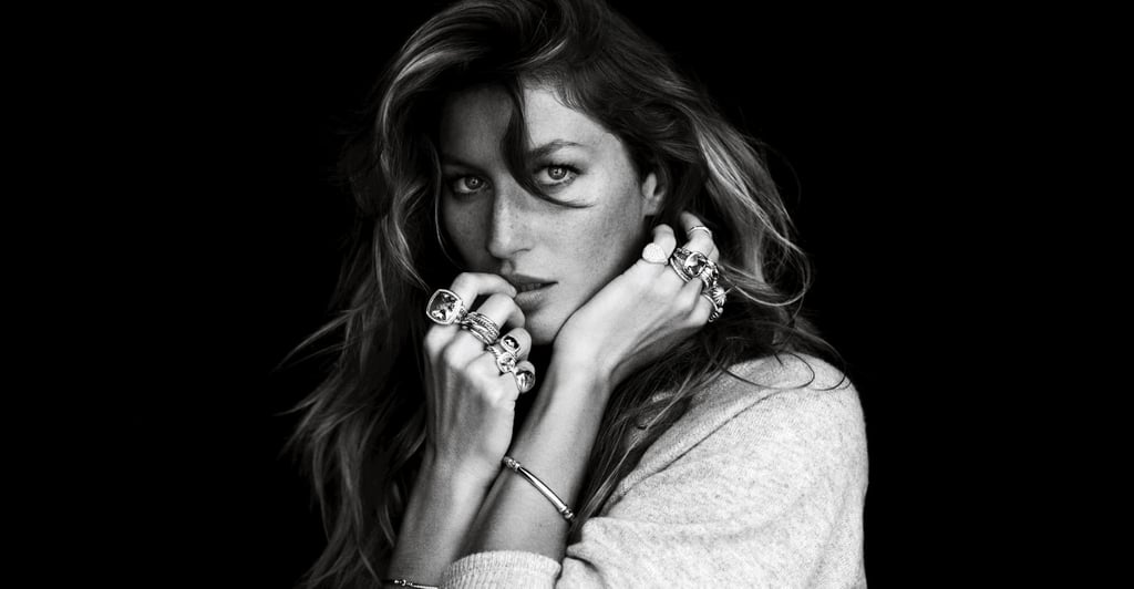Gisele Bundchen strikes a gorgeous pose, laden with David Yurman accents no less, for the jewelry designer's Fall 2012 ads.