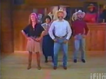 And Now For A Line-Dancing Musical Interlude...