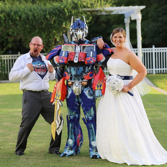 Transformer and Pac-Man Themed Wedding