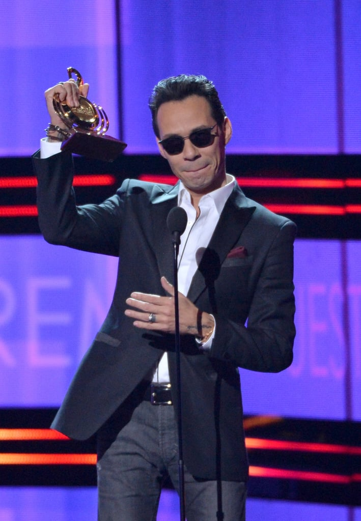 """When Marc Anthony Won —Twice —and Gave an Empowering """"Somos Latinos!"""" Speech"""