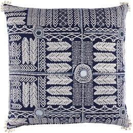 John Robshaw Textiles - Water - Barmer - Pillows