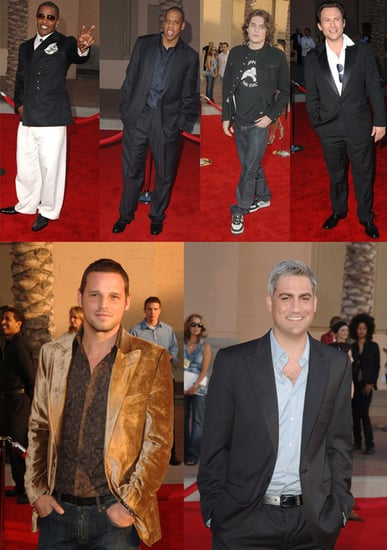 The Men Arrive at the AMAs