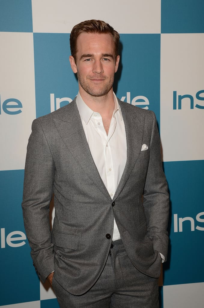 James Van Der Beek made an appearance at InStyle's summer party in LA.