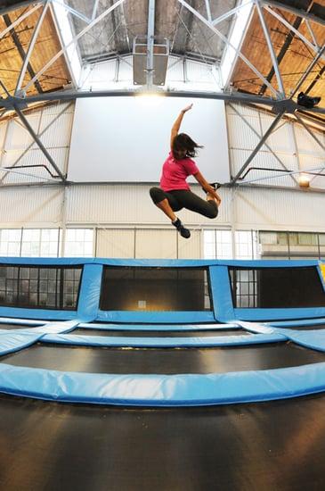 San Francisco House of Air Trampoline Gym
