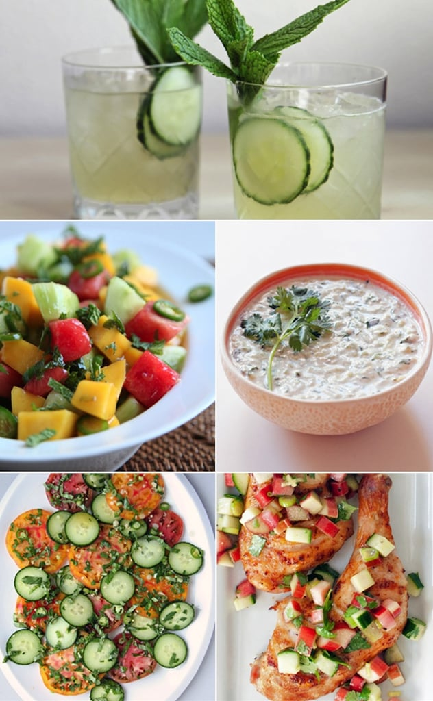 What to Do With Cucumbers (Besides Putting Slices Over Your Eyes)