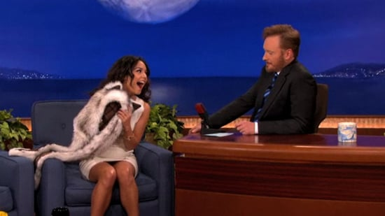 Video: Vanessa Hudgens on Conan and at the LA Premiere For Sucker Punch